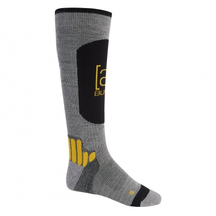 Burton AK Endurance Grey Heather Mens Socks