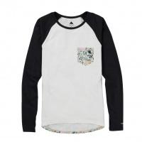 Burton - Roadie Stout White Avgard Womens Base Layer Tech T Shirt