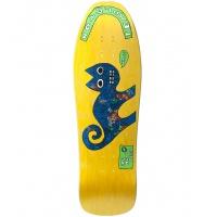 New Deal  - Templeton Cat Neon Multi 9.75 Skateboard Deck