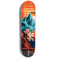 Primitive - DBZ Rodriguez SSG Goku Deck Orange 8.0