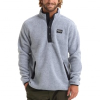 Burton - Hearth Gray Heather Mens Fleece Pullover