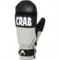 Crab Grab - Punch Mitt Bright Grey Snowboard Mitts