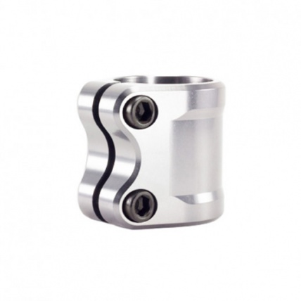 Tilt ARC Double Scooter Clamp in Silver