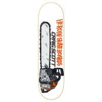 Heroin Skateboards - Craig Questions Chainsaw 8.75 Deck
