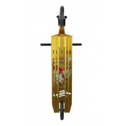District Titan Complete Scooter in Anodised Gold and Black