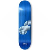 Fabric - Looping Blue 8.25 Skateboard Deck