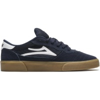 Lakai - Cambridge in Navy and White Suede