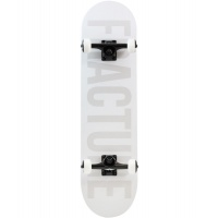 Fracture - White Fade Complete Skateboard 8.0