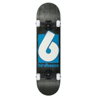 Birdhouse Skateboards - Complete Stage 3 B Logo Black and Blue 8.0in
