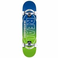 Real - Golden Oval Outline MD Complete Skateboard 7.75