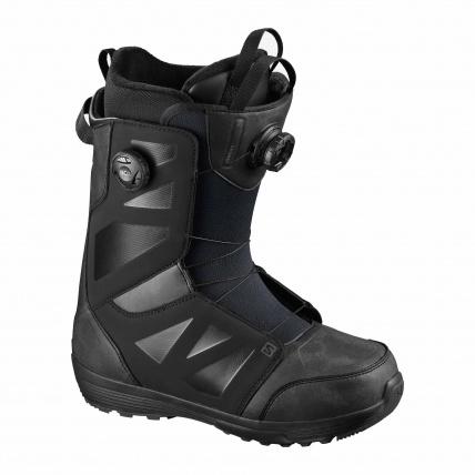 Salomon Launch SJ BOA All Black Mens Snowboard Boots