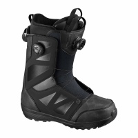 Salomon - Launch SJ BOA All Black Mens Snowboard Boots