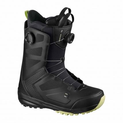 Salomon Dialogue Dual BOA Black Mens Snowboard Boots