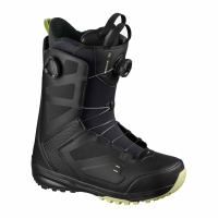 Salomon - Dialogue Dual BOA Black Mens Snowboard Boots