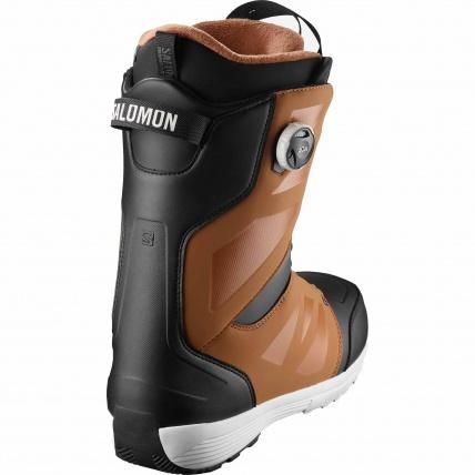 Salomon Launch BOA SJ BOA Rawhide Black Mens Snowboard Boots