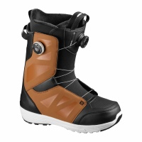 Salomon - Launch BOA SJ BOA Rawhide Black Mens Snowboard Boots