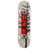 Enuff - Evergreen Tree White 8.0in Complete Skateboard