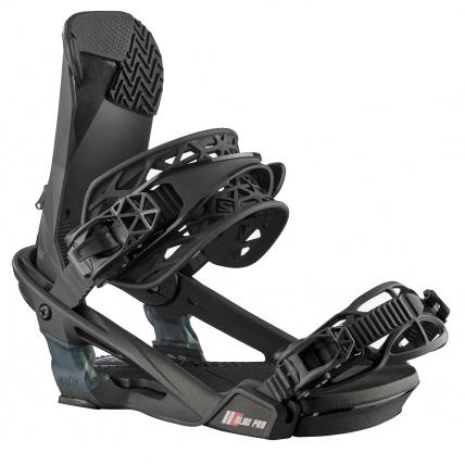 Salomon Alibi Pro Black Metallic Snowboard Bindings