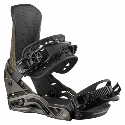 Salomon District HPS Black Green Mens Snowboard Bindings