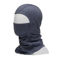 686 - Deluxe Hinged Balaclava Grey Melange Hood