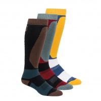 686 - Bruiser 3-Pack Mens Snow Socks