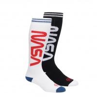 686 - x NASA Exploration 2-Pack Mens Snow Socks