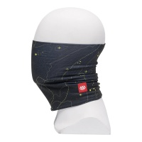 686 - Youth Ultra Face Warmer Black Contour Map