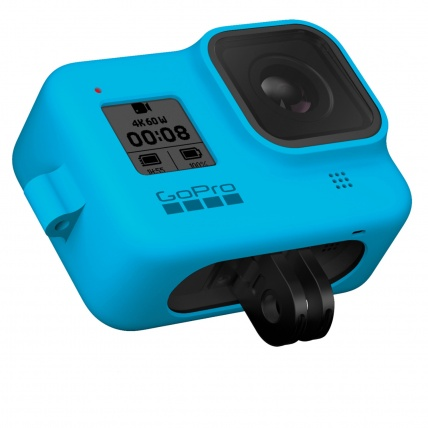 GoPro HERO8 Black Sleeve & Lanyard Blue