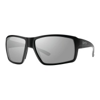 Smith - Colson Sunglasses Matt Black Platinum Mirror ChromoPop Polarised