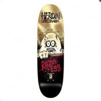 Heroin Skateboards - Razor Egg Gold 9.125 Deck