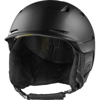 Salomon - Sight Black Unisex Snowboard Snow Helmet