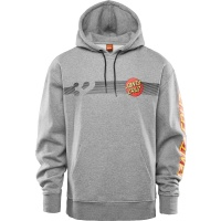 Thirty Two - Santa Cruz Repel Hoodie Grey Heather