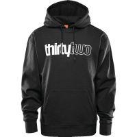 Thirty Two - Double Basic Hoodie Black