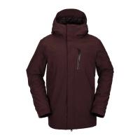 Volcom - L Gore-Tex Ski Snowboard Jacket Black Red