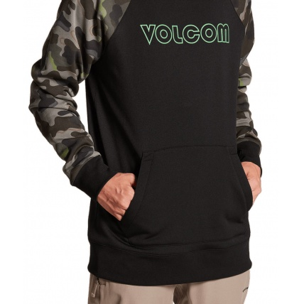 Volcom Hydro Army Riding Ski Snowboard Hoodie