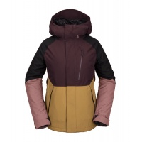 Volcom - Aris Ins Gore-Tex Black Red Women Snowboard Jacket