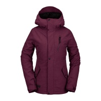 Volcom - Ashlar Ins Virant Purple Women Snowboard Jacket