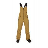 Volcom - Swift Bib Overall Burnt Khaki Womens Snowboard Pants