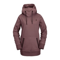Volcom - Spring Shred Hoodie Rose Wood Womens Riding Sweat