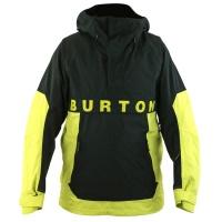Burton - Frostner Anorak Limeade True Black Mens Snowboard Jacket