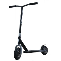 Ascent Dirt Scooters - DIrt Scooter Fade Black Complete