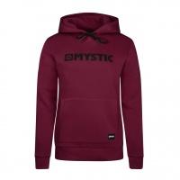 Mystic - Brand Hoodie Sweat Burgundy