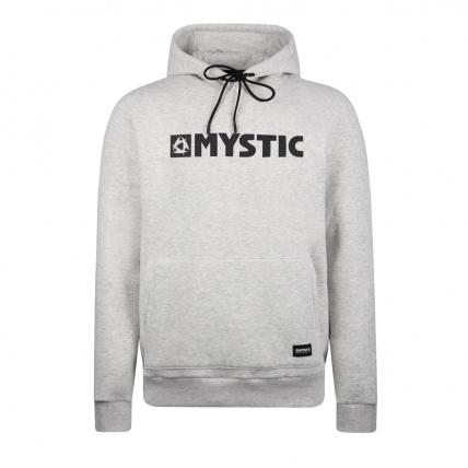 Mystic Brand Hoodie Sweat Ashpalt Melee