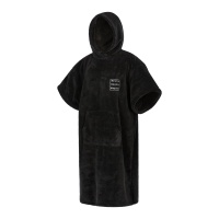 Mystic - Poncho Teddy Black Changing Robe