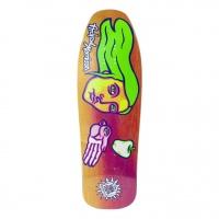 New Deal  - Morrison Bird In Hand Neon 9.875 Skateboard Deck