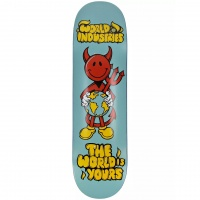 World Industries - World Is Yours 8.25 Skateboard Deck
