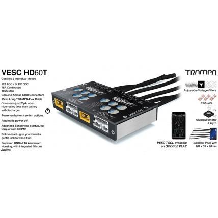 Trampa VESC HD-60T Twin Info