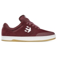 Etnies - Marana Maroon White Skate Shoes