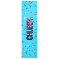 Chubby Scooter Co - Sticky Logo Griptape Sheet Blue