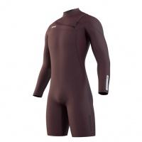 Mystic - Marshall Longarm Shorty Merlot 3/2 Front Zip Mens Wetsuit
